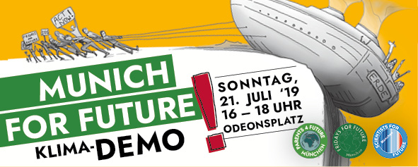 MUNICH FOR FUTURE 21.7.2019