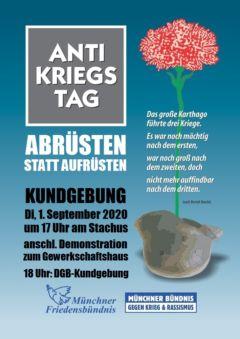 Antikriegstag München 2020