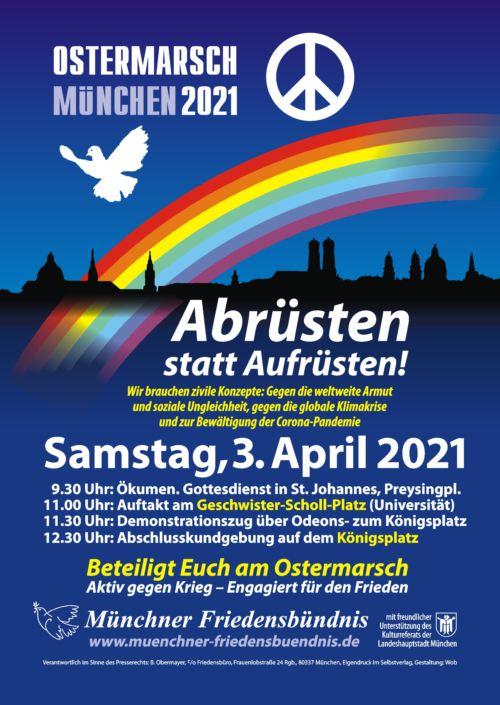 Ostermarsch München 2021